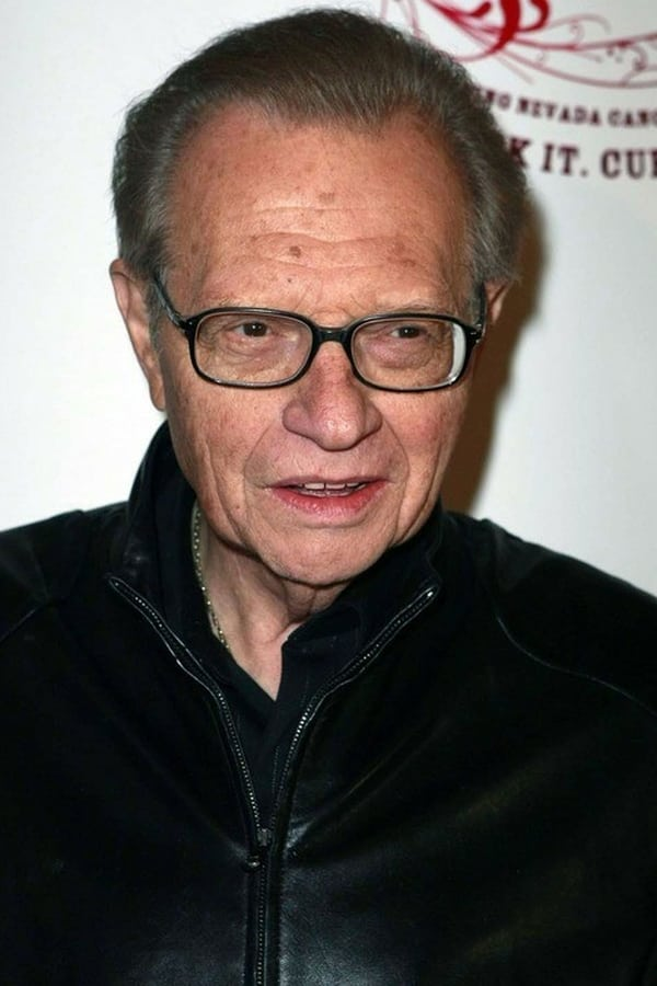 Foto de Larry King pareja de Mickey Sutphin